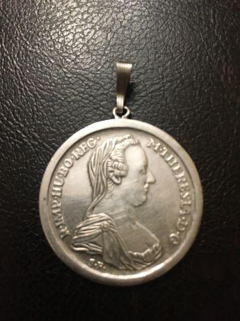 pandant taler Maria Terezia 1780. argint. Austria