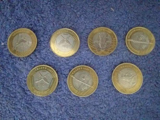 Монеты новые юбилейные 100 тг