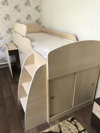 Кровать чердак детский