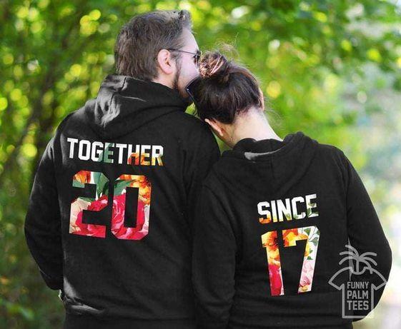 Hanorace și tricouri personalizate cupluri