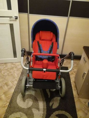 Кресло-коляска ПУНТУКАС с52V  для детей с ДЦП, 2 размер