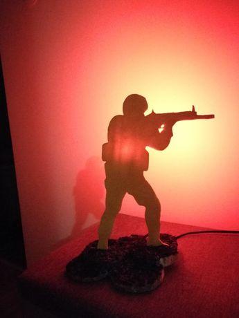Veioza Counter-Strike cu bec RGB cu telecomanda - HANDMADE