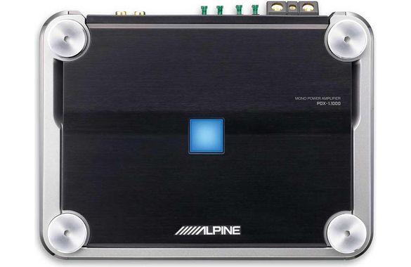 Alpine PDX-4.150 усилвател  за кола и суб JBL
