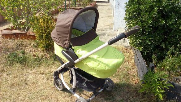 Комбинирана бебешка количка Hauck - Malibu Duo Set 2 в 1