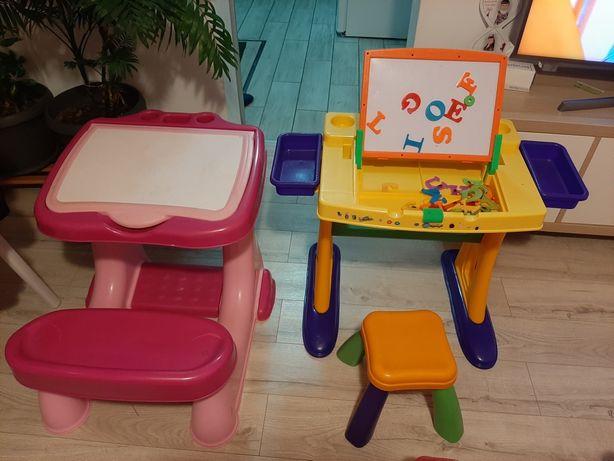 Birou copii cu scaun sau bancuta