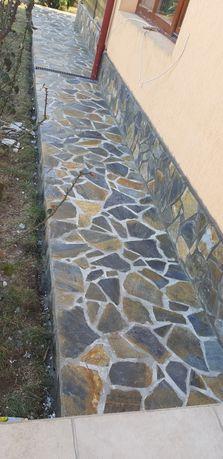 Piatră naturală de munte ideal pentru pavat