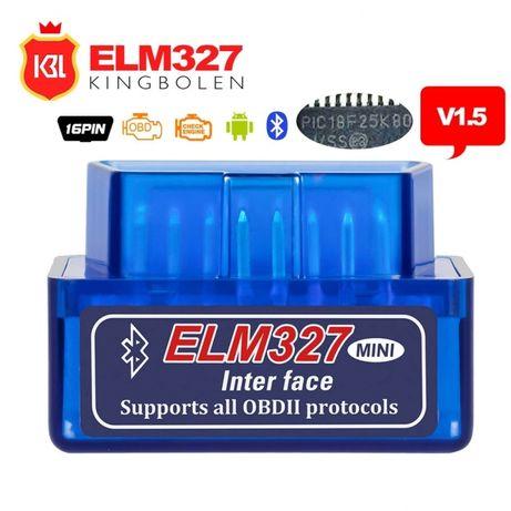 Диагностика Elm327 mini - bluetooth android безжична връзка OBD
