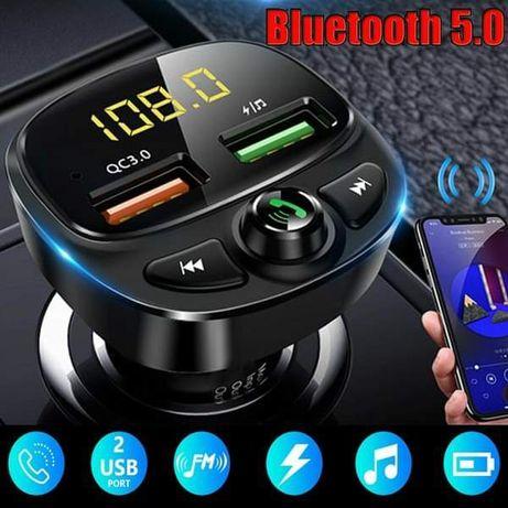 Трансмитер, transmiter, MP  3 за кола, Bluetooth, Player FM, зарядно