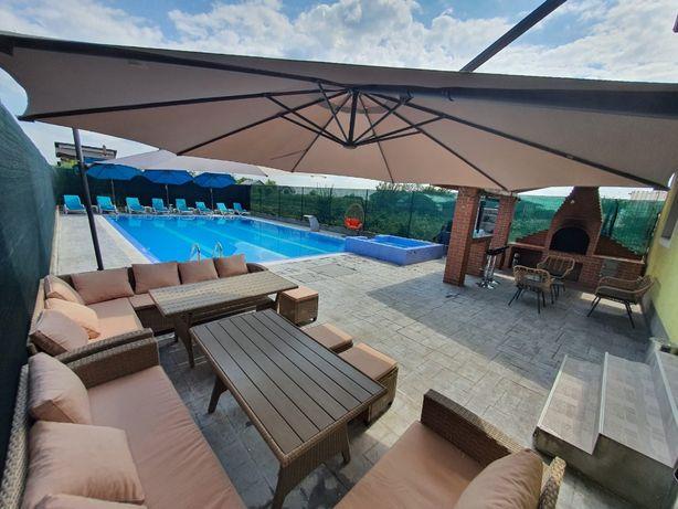 Casa/vila petreceri/evenimente piscina, piscina interioara, jacuzzi