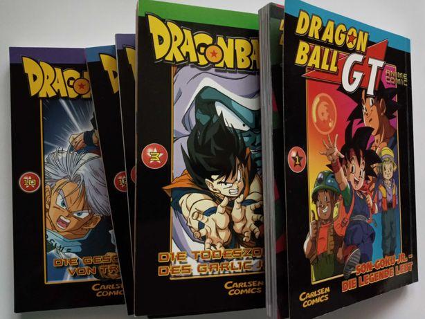 Vând benzi desenate color Dragon Ball Z și GT