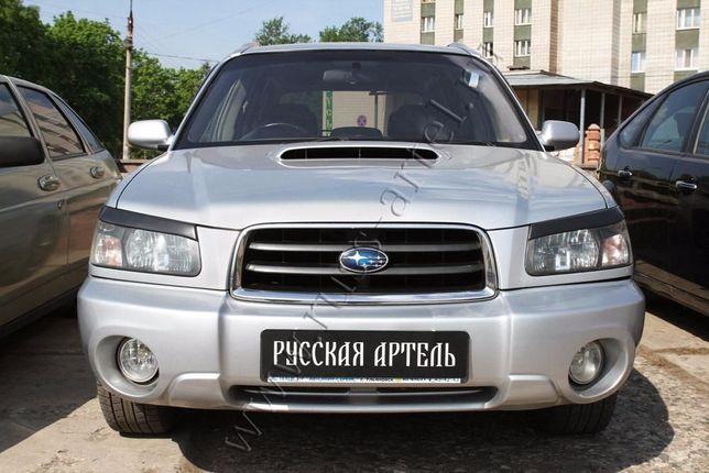Запчасти (реснички) Subaru Forester 2002 до 2005
