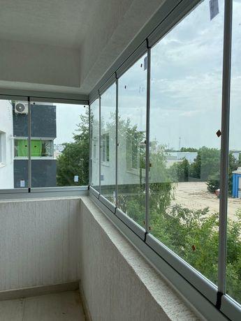 Inchideri terase balcoane foisoare cu sticlă armonică sau glisantă