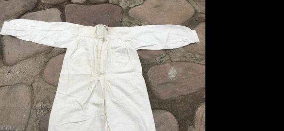 Стара мъжка риза кошуля от шопска народна носия