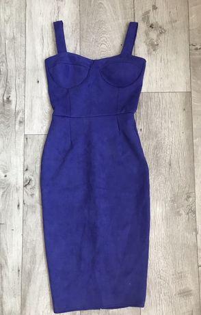 Продам замшевое платье