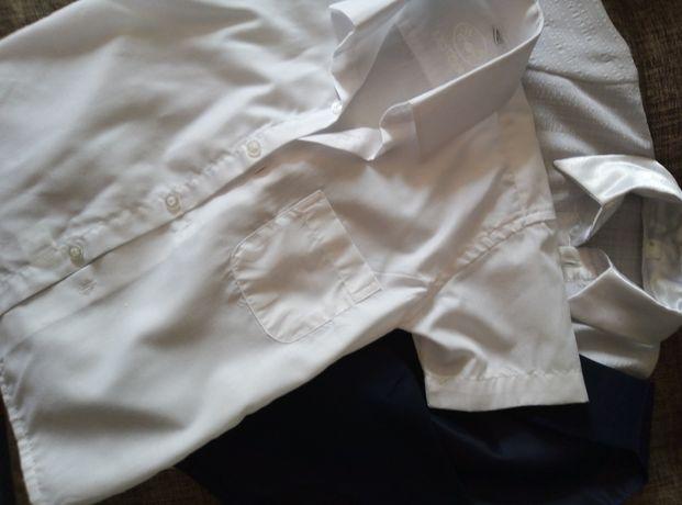 Продам школьные рубашки и жилетку