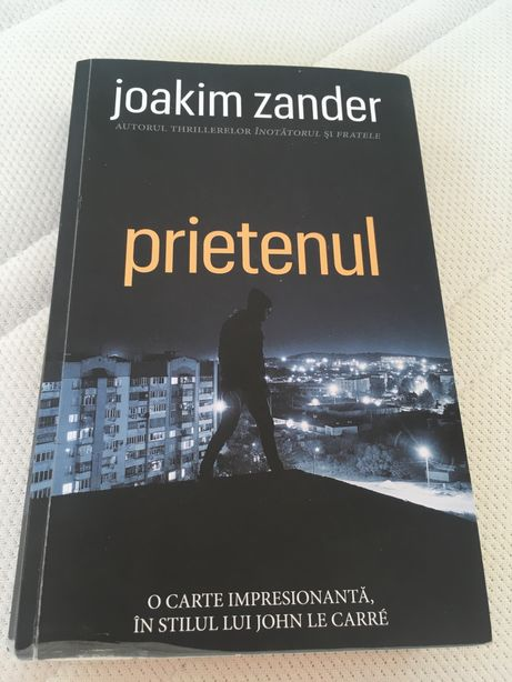 roman Prietenul De (autor): Joakim Zander