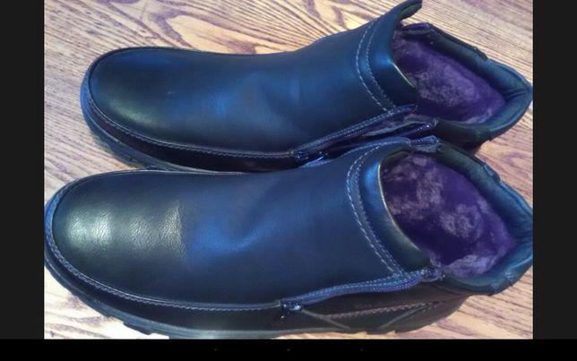 Ботинки зимние новые 46-47 размер, мерить надо.