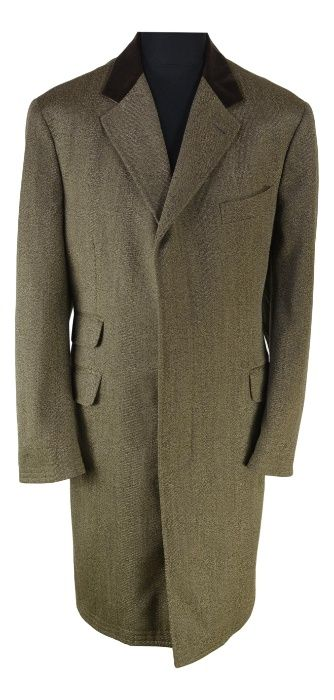 Palton Barbato Tombolini Marimea 52-54 Maro din Lana Business XT4 Bistrita - imagine 1
