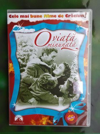 O VIAȚĂ MINUNATĂ [DVD] [1947]. Cel mai frumos film de Crăciun