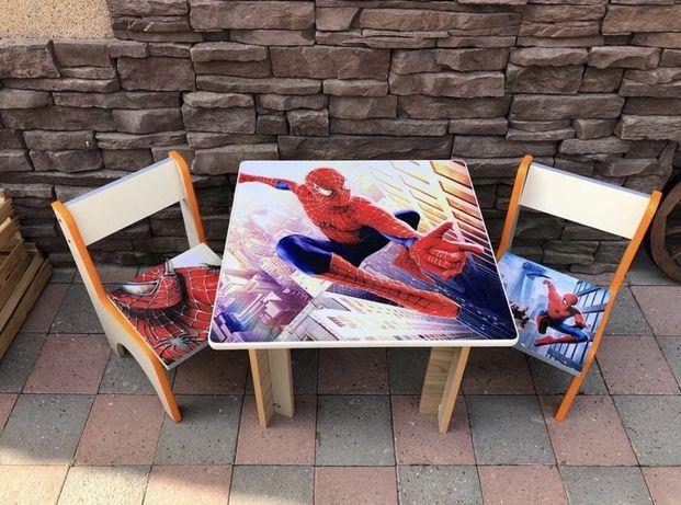 Столики для деток с двумя стульчиками