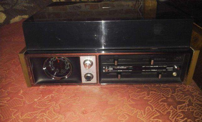 pickup JVC cu radio 2x15w rms !