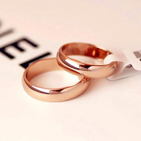 Продам новые обручальные кольца в позолоте все размеры