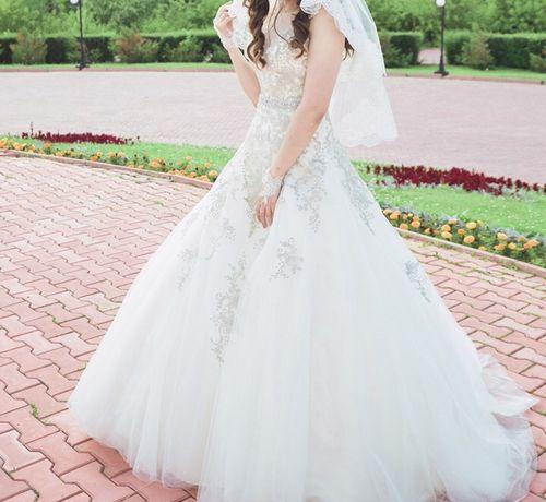 Свадебнoе платье