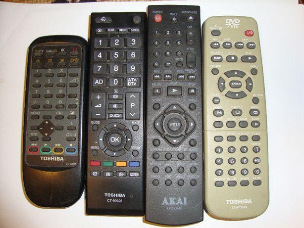 Telecomanda Aiwa, Toshiba si Akai pentru diverse aparate electronice