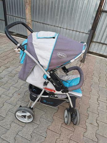 коляска детская prego