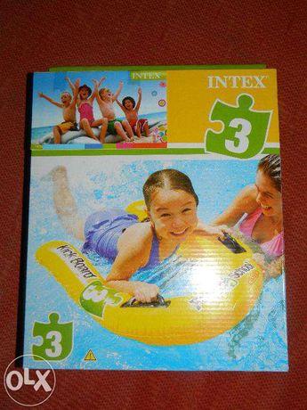 Saltea/ Placa gonflabila pentru copii, cu manere, Intex, Noua,sigilata