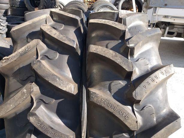Cauciucuri noi 340/85 R24 Armour anvelope radiale tractor fata 13.6 24