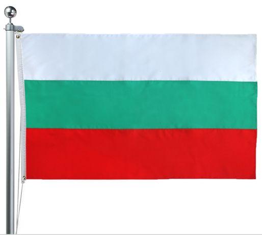 Българско знаме с размери 120 Х 180 см. с капси