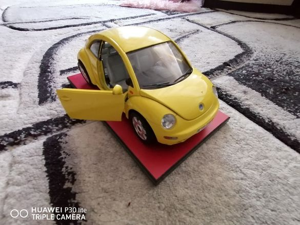 Vw beetle 1/18 made in italy
