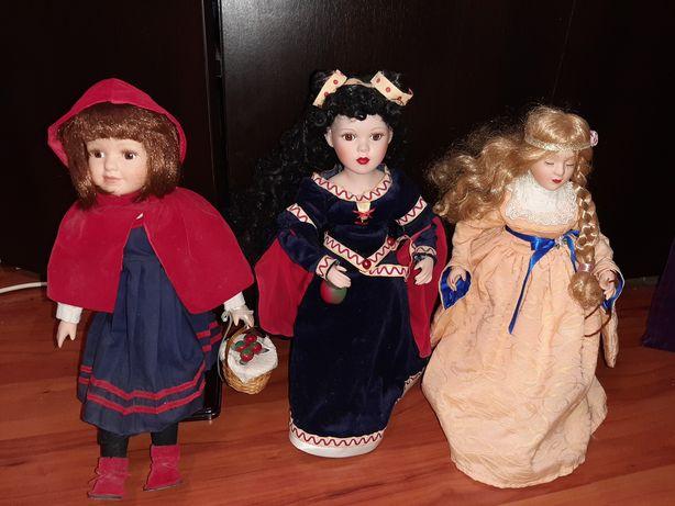 Colectie papusi din portelan Alba ca Zapada Scufita Frumoasa Adormita