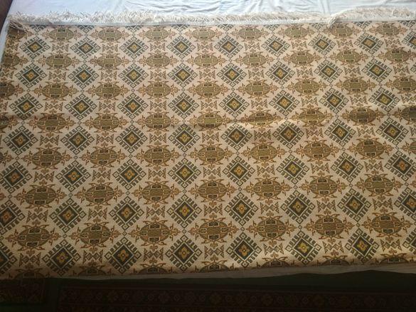 Жакардова покривка за спалня Плетен крокодил