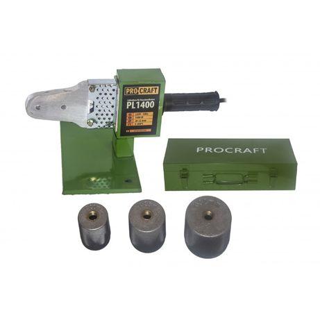 Aparat de lipit tevi / plita PPR, Procraft PL1400, 1400 W