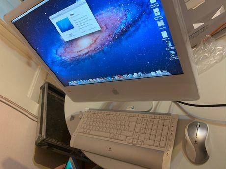 "Apple Imac 24"" inch late 2006 core 2 duo kit wireless logitech"