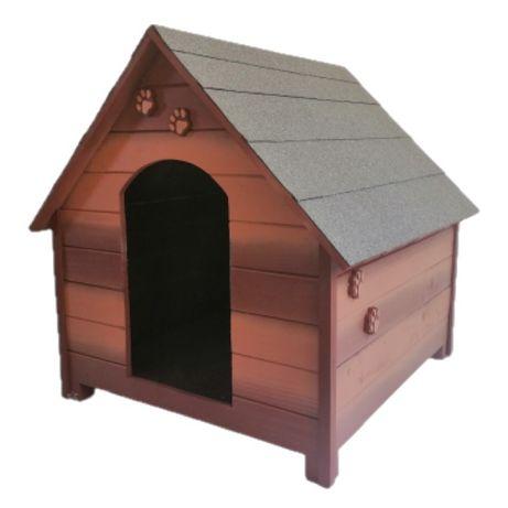 Къща за куче - Кафява,размер ХЛ- Къщи за кучета ,Колиби за кученца