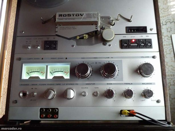 Magnetofon Rostov-Soyuz-altele- modificari, restaurari, service