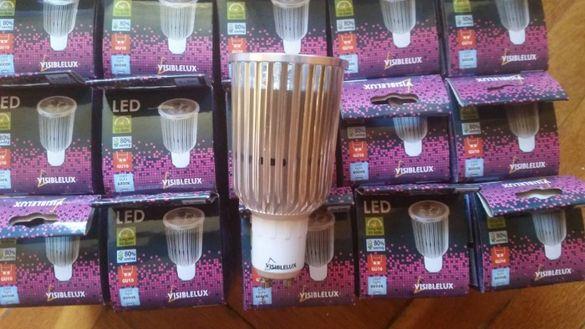 Продавам LED Лампа 3X3W 220V GU10 CW 6000K VISIBLELUX