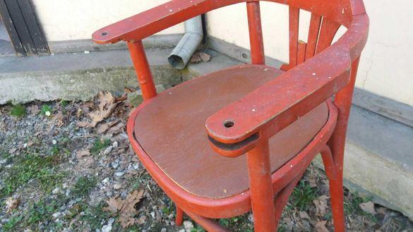 дървен стол,табуретка