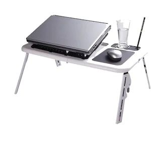 Masuta de laptop multifunctionala e-table , suport usb