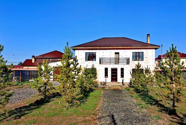 Продам дом коттедж 80%готовность Жибек жолы коттеджный городок