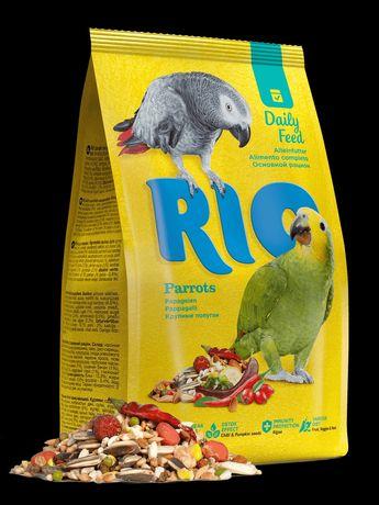 Корм для крупных попугаев Rio
