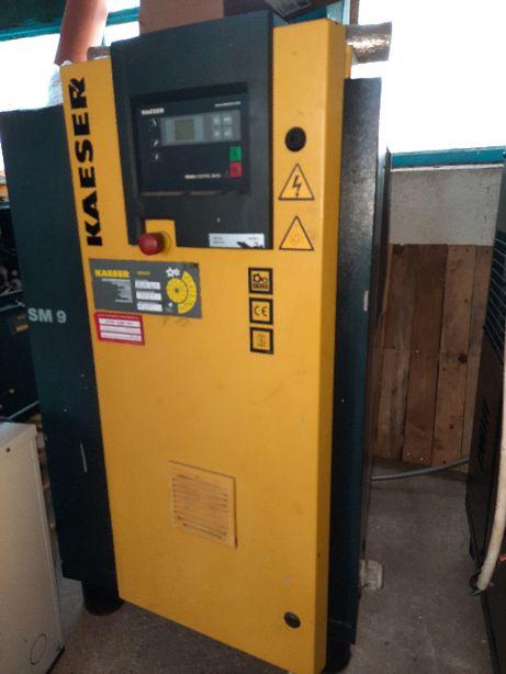 Compresor pe surub kaeserSM 9 5.5KW-2 compresoare (buc)