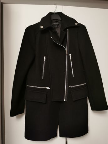 Palton zara negru