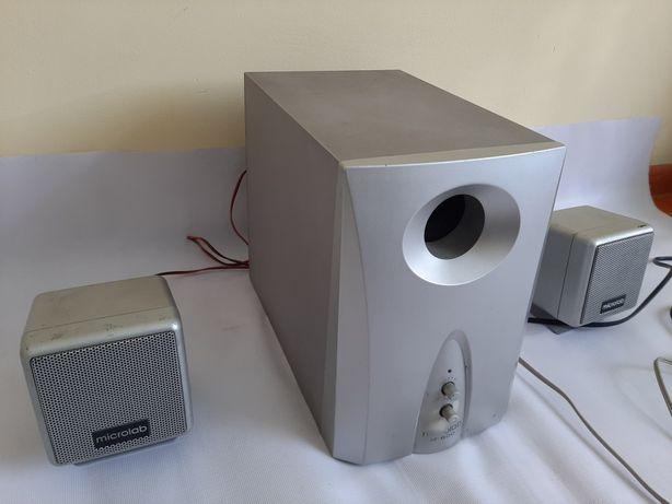 Микролаб Колонка с буфером для ноутбук и компьютер Буфер