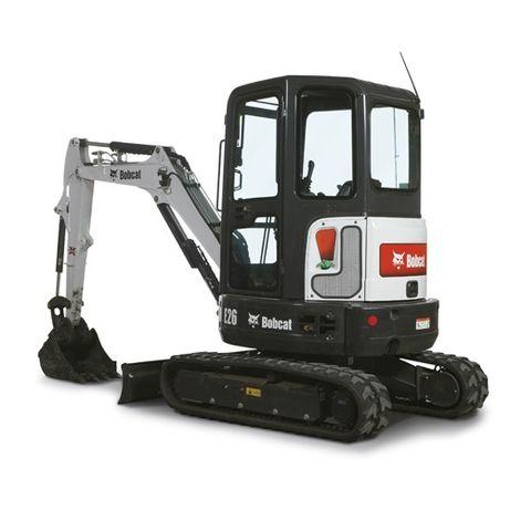 Utilaje constructii Bobcat Excavator Sapatura Fundatie Santuri Gropi