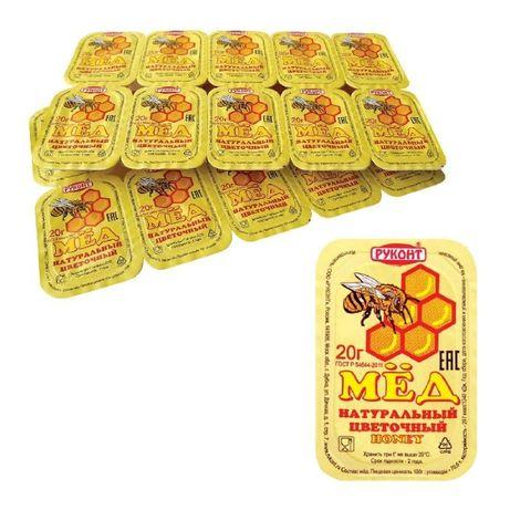 мёд порционный цветочный