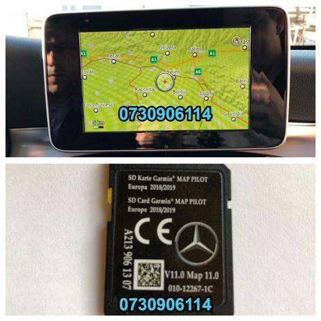 Card Harti Mercedes A B CLA CLS E GL GLE GLC M Garmin Romania 2020 v15